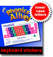 Phonics Alive 6 Typing Program