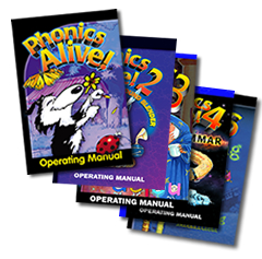 Phonics Alive Manuals
