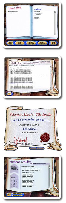 About Phonics Alive Program Screenshot of Features