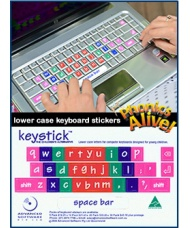 Lowercase Keyboard Stickers