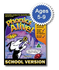 Phonics Alive! 1 for Schools