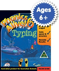 Phonics Alive! Typing Program